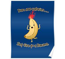 Burning Calories! Poster