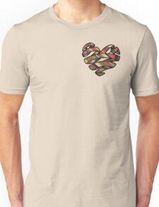 Scarf Heart Unisex T-Shirt