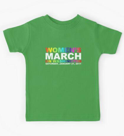 Women's March on Washington Kids Tee