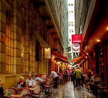 Causeway Lane, Melbourne by Christine Smith