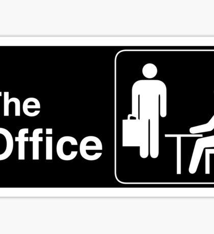 The Office TV Show Logo Sticker