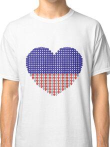 Patriotic Heart Classic T-Shirt