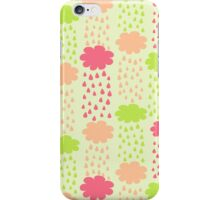 Cartoon Childish Cloud Pattern iPhone Case/Skin