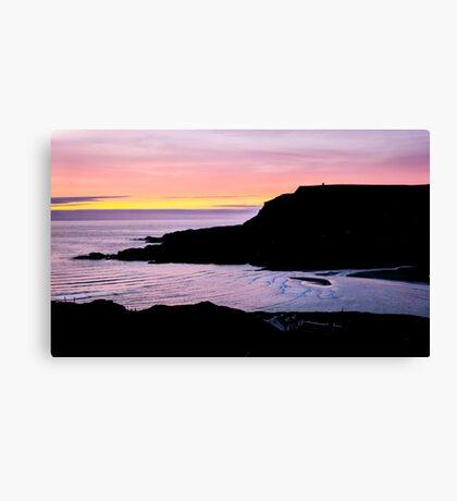 Sunset at Beefan Mountain - Glencolmcille, Ireland Canvas Print