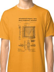 Mary Anderson - Windshield Wipers Classic T-Shirt