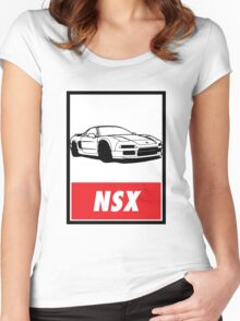 OBEY NSX Women's Fitted Scoop T-Shirt