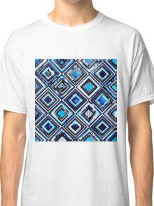 Test Pattern (Blue) Classic T-Shirt