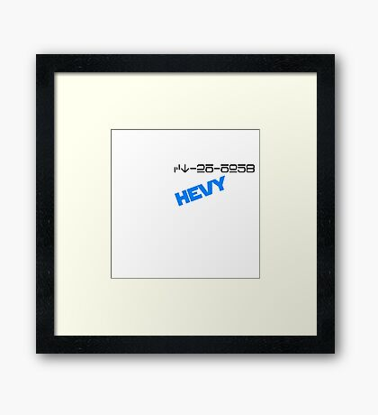 CT-26-6958 Hevy! Framed Print