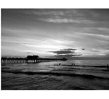Naples pier Photographic Print