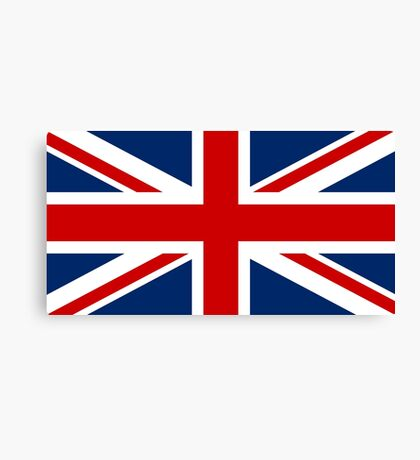 Union Jack, British Flag, UK, United Kingdom, Pure & simple, UK Canvas Print
