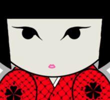 Kokeshi Red Sticker