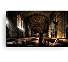 Vampire Cathedral Canvas Print