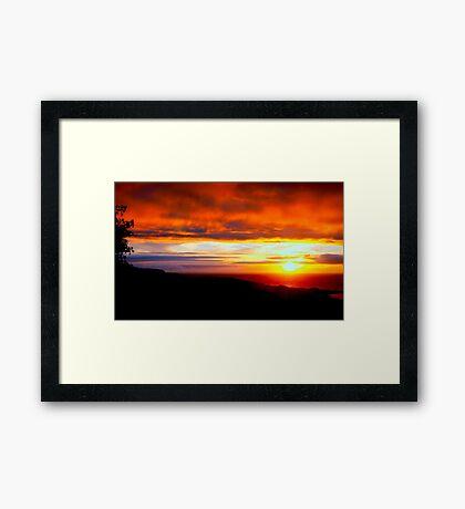 Sunset  - Glencolmcille, Ireland Framed Print