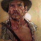 Indiana Jones by artzadventure