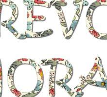 Trevor Flowers Sticker