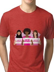 Women's March on January 21 to protest Trump's presidency. Tri-blend T-Shirt
