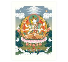 Usnisavijaya Art Print
