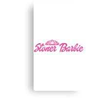 Stoner Barbie Canvas Print