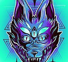 Mystic Wolf  by retkikosmos