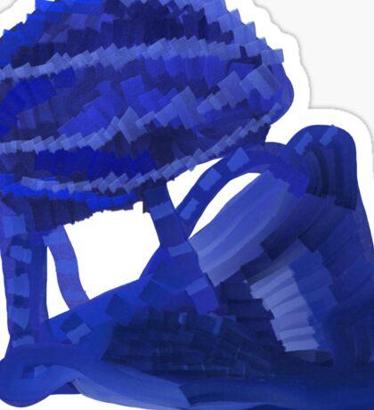 Unknown Blue Object Sticker