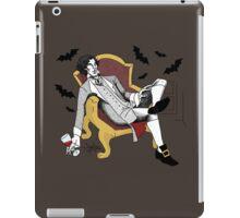 Sherlock - Vampire AU (colour version) iPad Case/Skin