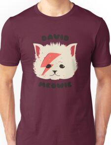 david meowie Unisex T-Shirt