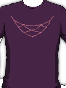 Pink Princess Heart Necklace T-Shirt