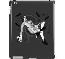 Sherlock - Vampire AU (black & white) iPad Case/Skin