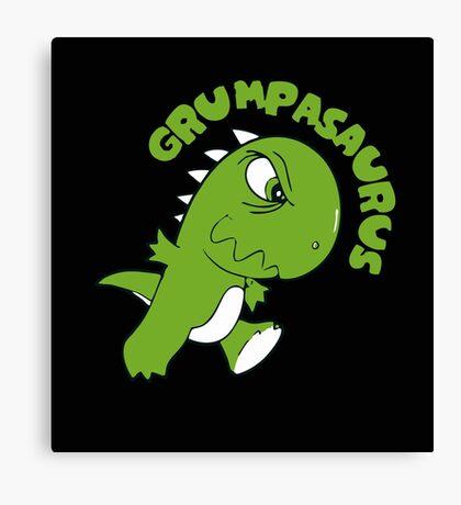 Grumpasaurus Rex Canvas Print
