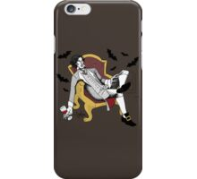 Sherlock - Vampire AU (colour version) iPhone Case/Skin