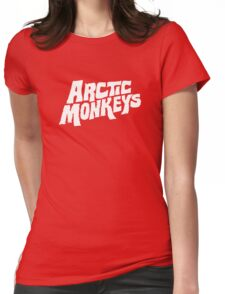 Arctic Monkeys logotype Womens Fitted T-Shirt
