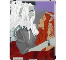 King and Queen iPad Case/Skin