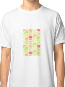Cartoon Childish Cloud Pattern Classic T-Shirt
