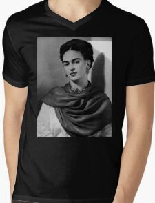 Frida Kahlo Mens V-Neck T-Shirt
