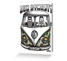 DUB DYNASTY Greeting Card