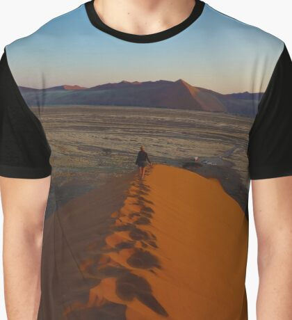 Namibia Sand Dune 45 Graphic T-Shirt