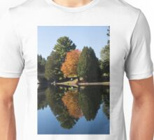 Defying the Green - the First Autumn Tree Unisex T-Shirt