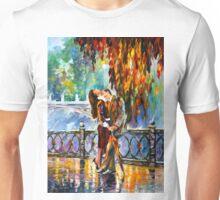 KISS AFTER THE RAIN - Leonid Afremov Unisex T-Shirt