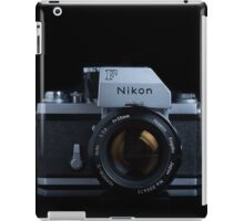 Nikon F with FTn Photomic prism iPad Case/Skin