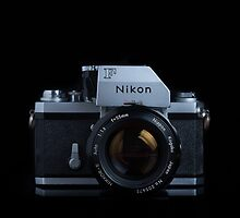 Nikon F with FTn Photomic prism by Jane McLoughlin