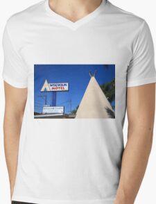 Route 66 - Wigwam Motel Mens V-Neck T-Shirt