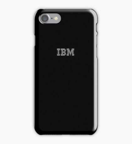 IBM 80s - Black iPhone Case/Skin