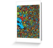 Monsters In My Pockets Greeting Card