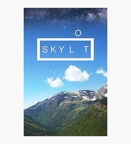 Sky Lot Photographic Print