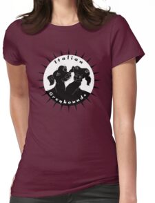 Italian greyhounds Womens Fitted T-Shirt