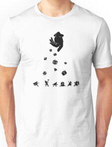 Rocks Fall, Everyone Dice Unisex T-Shirt
