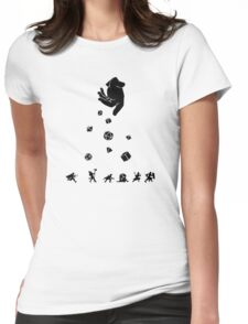 Rocks Fall, Everyone Dice Womens Fitted T-Shirt