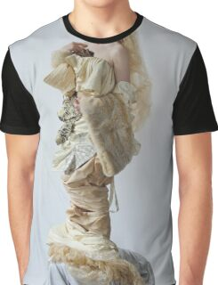 Girl Statue Graphic T-Shirt