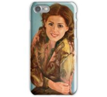 portrait of Muse iPhone Case/Skin