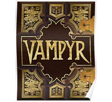 Vampyr Book - Buffy the Vampire Slayer Poster